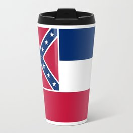Mississippi State Flag, Authentic Version Travel Mug