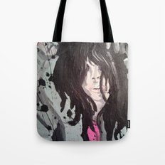 Dripping Black Tote Bag