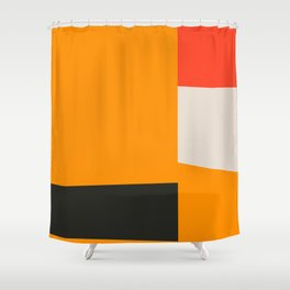 Mid Century Minimal 2 Shower Curtain