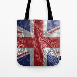 Big Ben - UK Flag Tote Bag
