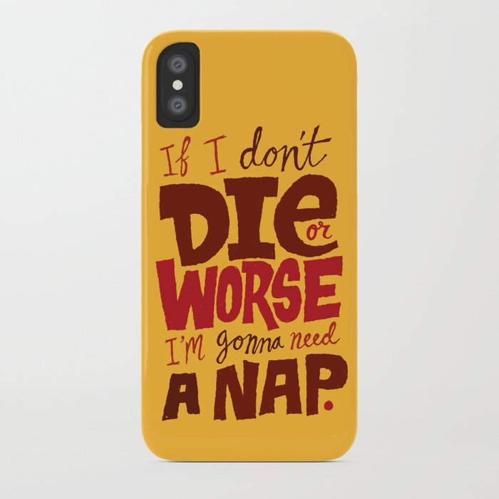 Die or Worse iPhone Case