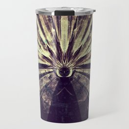 Geometric Art - SUN Travel Mug