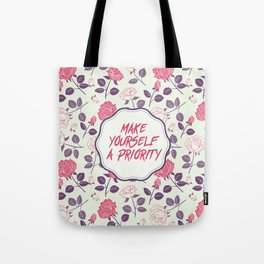 Make yourself a Priority Tote Bag