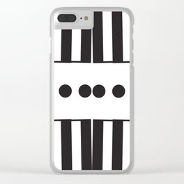 "Dot Your j's - The Didot ""j"" Project Clear iPhone Case"