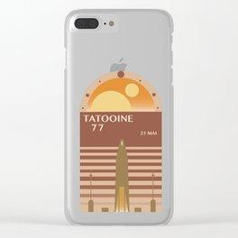 Tatooine 77 Clear iPhone Case
