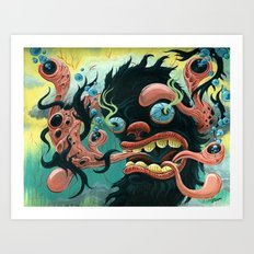 Guardian of the Bubble Pipes of Creation Art Print