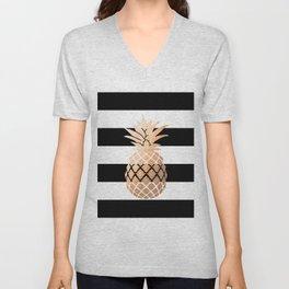 Pineapple Vibes Unisex V-Neck