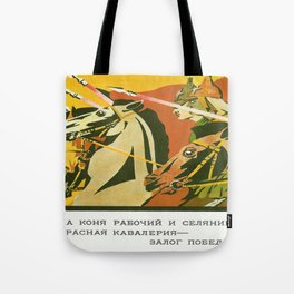 Vintage poster - Russia WWI Tote Bag