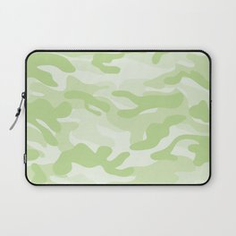 light Green Military Camouflage Pattern Laptop Sleeve