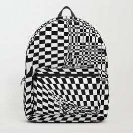 black white Backpack