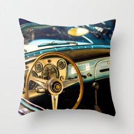 Car interior Throw Pillow