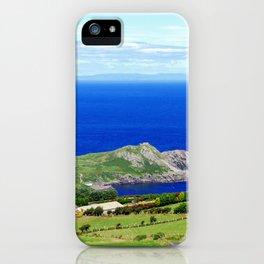 Landscape of Antrim coast. Northern Ireland iPhone Case
