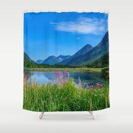 God's_Country 4129 - Alaska Shower Curtain