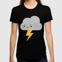 Kawaii Thunder & Lightning Cloud T-shirt