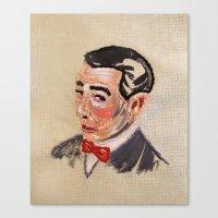 pee wee Canvas Prints featuring Pee Wee Herman by Allison K.