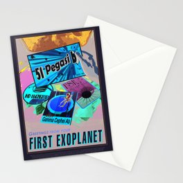 NASA / Visiones of the future / Fist Exoplanet Stationery Cards