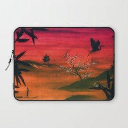 Oriental Sunset Laptop Sleeve