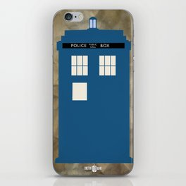 The Tardis iPhone Skin