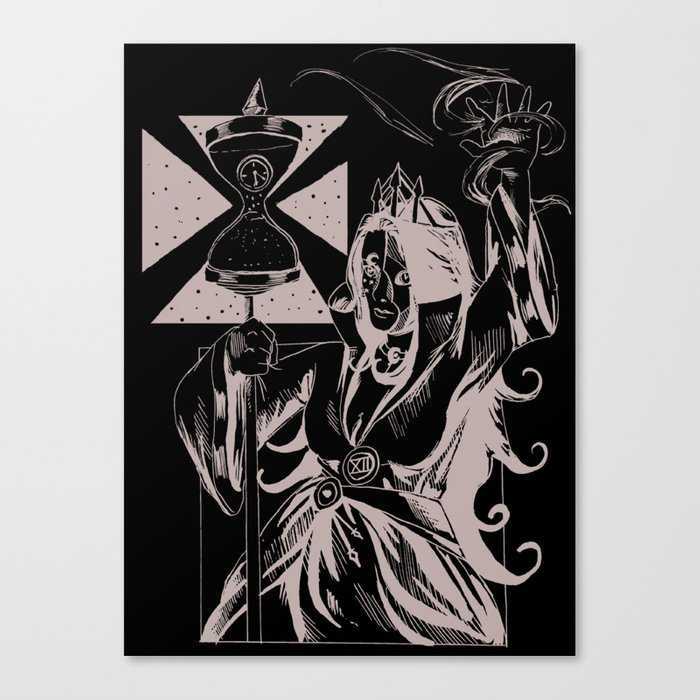 Time Witch Canvas Print