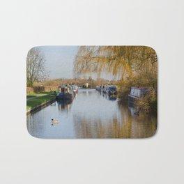 Canal at Alrewas Bath Mat