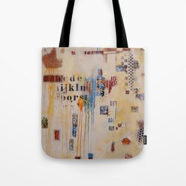 """""""Falling into Place"""" Tote Bag"""