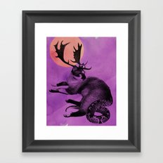 Catelope! Framed Art Print