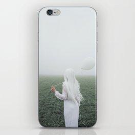 White girl iPhone Skin