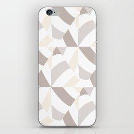 Geometric natural iPhone Skin