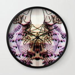 Hands Magic Music Wall Clock