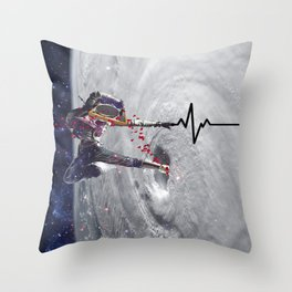 you are my lifeline Throw Pillow