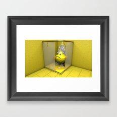Lemon Shower Framed Art Print