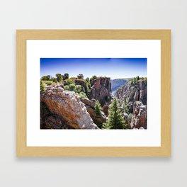 Black Canyon Colorado Framed Art Print