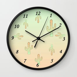 Cactus Male Wall Clock