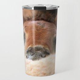 Fluffy pony Travel Mug