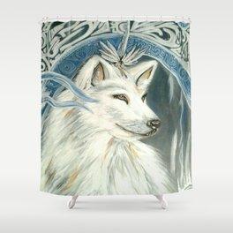 Wolf Diety Shower Curtain