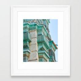 Al Balad Roshan Framed Art Print