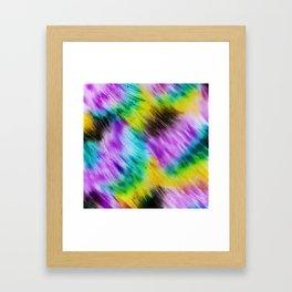 Rainbow furs Framed Art Print