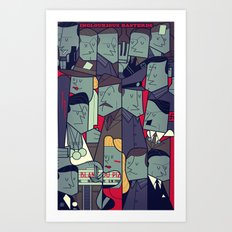 Inglourious Basterds Art Print
