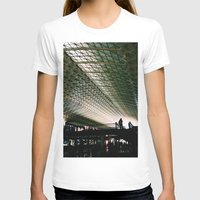 washington dc T-shirts featuring Union Station, Washington DC by Mt Zion Press