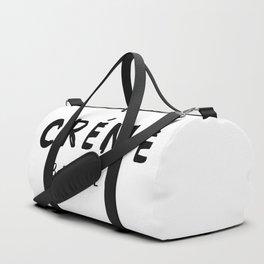 CRÉME BRÛLÉE - taste for fashion Duffle Bag