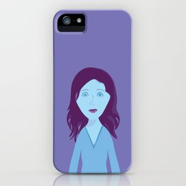 The Girl Who Remains iPhone Case