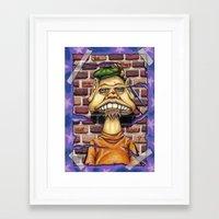floyd Framed Art Prints featuring Floyd by cdeeryart