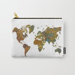 World map oriental Carry-All Pouch