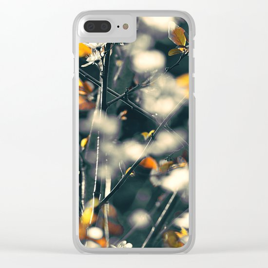 #105 Clear iPhone Case