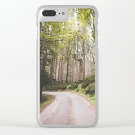 The Road to Olympia Clear iPhone Case