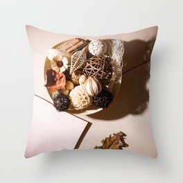 Potpourri for Your Modern Home Throw Pillow