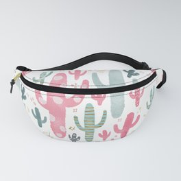 Cheerful Cactus Fanny Pack