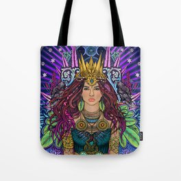 Queen Mother Goddess Tote Bag
