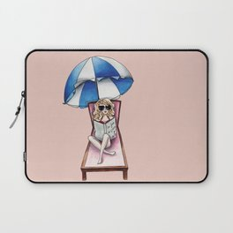 Margaux at the beach Laptop Sleeve