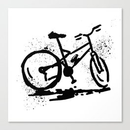 Rest bike Canvas Print